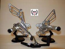 Honda CBR1000rr CBR 1000RR 2008-2014 CNC Billet Rearset Foot Pegs