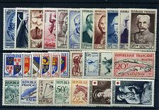 FRANCE ANNEE COMPLETE 1953 NEUF ** SANS CHARNIERE