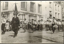 45 GIEN PHOTO GRAND FORMAT DEFILE MUSIQUE FANFARE LE REVEIL AUTRY-LE-CHATEL