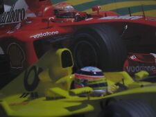 Poster Marlboro Ferrari F2002 2002 #1 Michael Schumacher (GER)