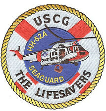 HH-52A Seaguard helicopter W5136 USCG Coast Guard patch Lifesavers pre-stripe