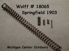 Wolff Gun Springs RIFLE SPRING SERVICE PAK CMP & SPRINGFIELD 1903 1903A3 W18065