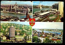 18 Old HUNGARY Postcards STAMPS Budapest BALATON Szombathely MAGYAR