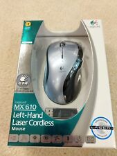 Logitech (MX 610) Left-Hand Laser Cordless Scroll Mouse W/ Receiver *NEW* *READ*