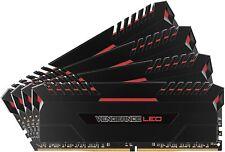 RAM Corsair Vengeance LED RED DDR4 Kit 64gb (4x16GB) 3200 MHz DDR4 C16 XMP2