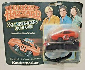 1980 The Dukes of Hazzard General Lee Wrist Racers Car Knickerbocker Carded Rare