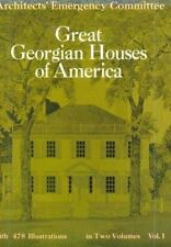 Great Georgian Houses of America Vol. 1 (1970, Paperback, Reprint)