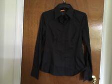 NWT Woman's Espirit Sz:S, Long Sleeve Black Shirt,