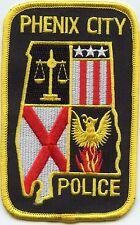 PHENIX CITY ALABAMA AL POLICE PATCH