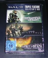HALO TRIPLE FEATURE COLLECTOR´S BOX 3 DVD SET SCHNELLER VERSAND NEU & OVP