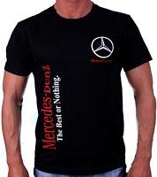Handmade T-Shirt Меrсеdеs АМG Веnz The Best or Nothing Logo футболка Cotton GL