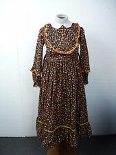 Vintage  AMISH DRESS w BONNET Hand made Size M-L  A-28