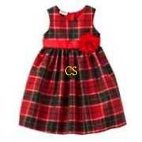 NWT $56-Girls Blueberi Boulevard Black & Red Plaid Christmas Holiday Dress-sz 4T