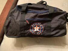 Houston Astros Bag With Wheels