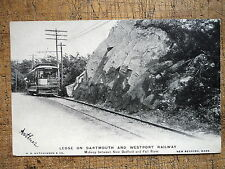 Dartmouth Westport Railway New Bedford Fall River Ma 1905