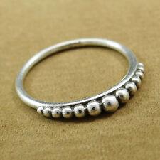 En Argent Sterling 925 Femmes Finger Band Ring Inde Mode Charme Bijoux