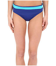 TOMMY BAHAMA Deck Piping Hipster w/ Wide Band Bottom Mazarine Island Blue M $56