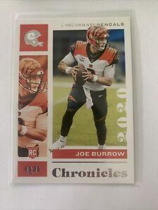 Panini Chronicles Football 2020 Joe Burrow RC