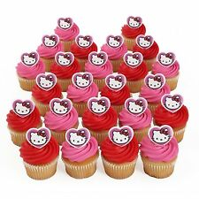 Hello Kitty 24 Birthday Cupcake Rings Bag Fillers Party Supplies Favors Prizes