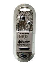 Skullcandy Ink'D 2.0 with In-Line Mic in White/Black