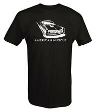 T Shirt -American Muscle Pontiac GTO Racing Muscle Car Goat