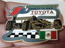 PIN'S F1 FORMULA ONE USA CART FEDEX SERIES 2002 MONTERREY TOYOTA EGF MFS