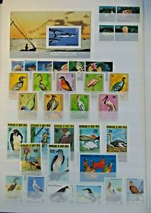 EARLY LOT SET WILDLIFE VF MNH B27.18 START $0.99