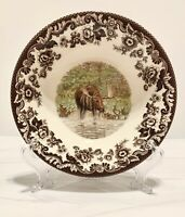 "SPODE Woodland MAJESTIC MOOSE Collection 8"" Cereal Bowl."