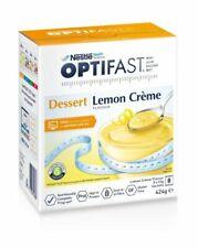 Optifast VLCD Lemon Creme Dessert Weight Loss Dessert