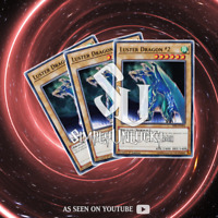 LUSTER DRAGON #2 x3   Common   SS02-ENA04 Duelists of Tomorrow YuGiOh
