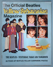 1968 The Official Beatles Yellow Submarine Magazine Psychedelic Animation