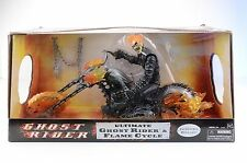 "Hasbro Ultimate Ghost Rider with Flame Cycle Marvel Legends 12"" Figure"