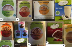 Ideal Protein lot 12 boxes  SPECIAL+FREE SHIPPING  + YOU CHOOSE