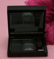 GIVENCHY LE PRISME MONO EYESHADOW 1 COLOR-4 FINISHES#01 SHOWY BLACK NO BOXDETAIL
