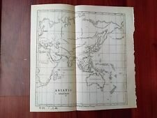 1884 Bureau of Medicine and Surgery Sketch Map Asiatic Station China