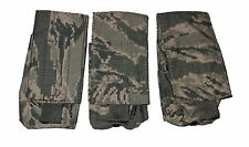 Lot of 3 US Air Force ABU Tiger Stripe Camo 9mm Single Mag Magazine Ammo Pouch
