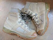 Original British Army Issue Leather Lowa Desert Combat Boots Size 6 UK #529