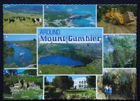 Around Mount Gambier Cape Northumberland Blue Lake c1970's Postcard (P240)