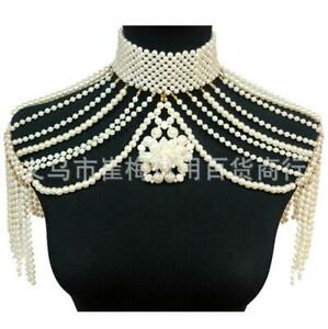 Sexy Women Tassels Body Chains Harness Glamour Shoulder Chain Necklace Jewelry