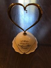Ardleigh Elliott A Daughter'S Heart Music Box - Plays Always In My Heart - Used