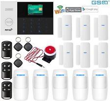 O71 IP WiFi Cloud APP GSM RFID Wireless Home House Security Alarm Burglar System
