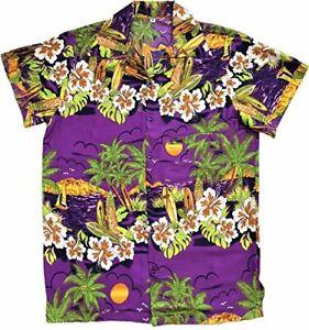 MENS HAWAIIAN SHIRT STAG NIGHT BRIGHT ALOHA HOLIDAY BEACH SUMMER LOUD