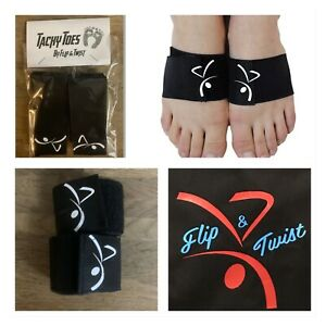 GYMNASTIC DANCER CHEERLEADER TACKY TOES STICKY TOES BY FLIP & TWIST