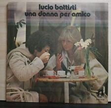 LUCIO BATTISTI - UNA DONNA PER AMICO - NESSUN DOLORE - 45 GIRI VINILE NUOVO 1978