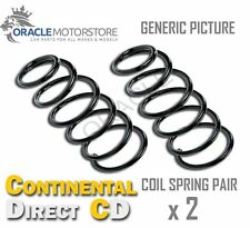 2 x CONTINENTAL DIRECT FRONT COIL SPRING PAIR SPRINGS OE QUALITY - GS7014F