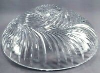 Clear Glass Crystal Ceiling Light Bowl Cover Shade Fixture
