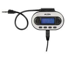 Alba Fm In-Car Transmitter - Silver/Black