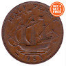 1953 - 1967 ELIZABETH II HALF PENNY HALF PENNIES CHOICE OF YEAR DATE