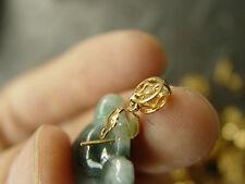 1PCS titanium gold jewelry Clasp install for jade jadeite pendant W48