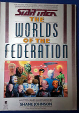 star Trek: The Worlds of the Federation  August 1 1989 Shane Johnson 1st Edit